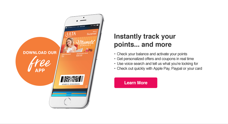Track points, access offers and more on our free app. Add your rewards card to Apple Wallet.