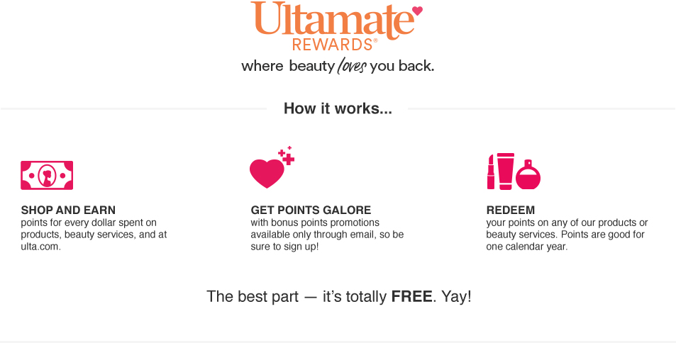 ulta rewards about ultamate rewards program ulta beauty