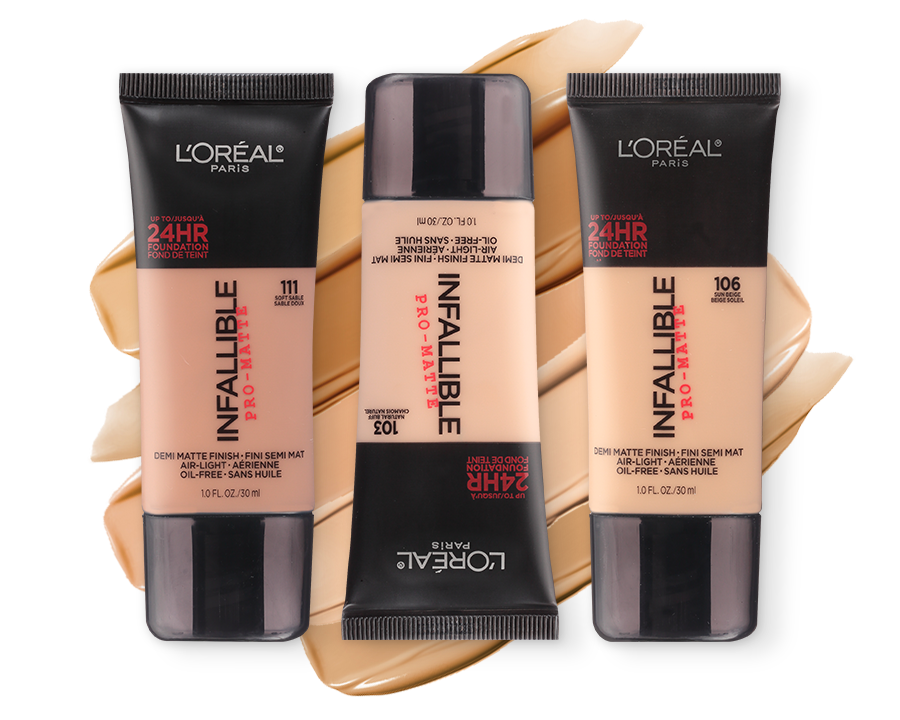 Shade Finder - L'Oréal Infallible Pro-Matte 24HR Foundation | Ulta Beauty