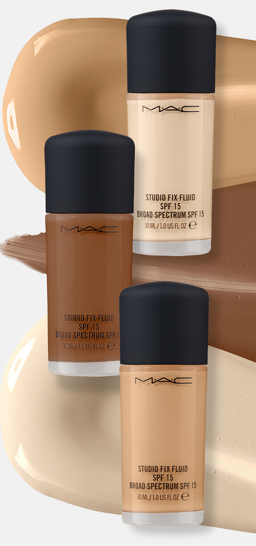 Shade Finder - <b>MAC</b> Studio Fix Fluid SPF 15 Foundation | Ulta Beauty