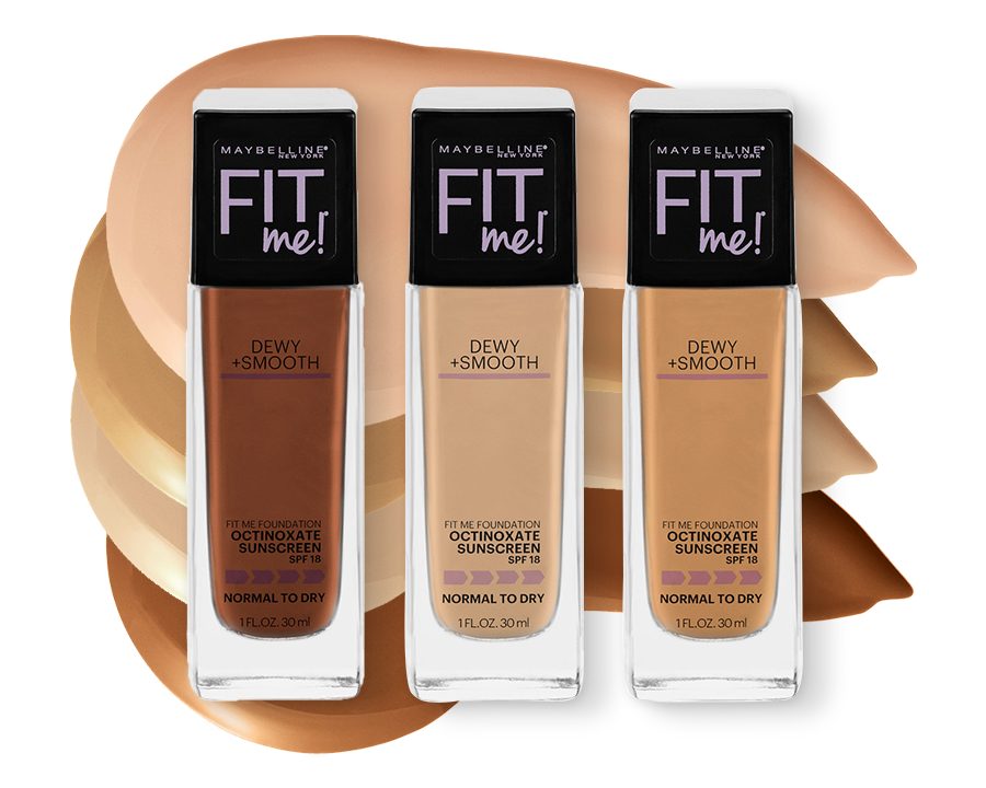 Shade Finder - Maybelline Fit Me Dewy + Smooth Foundation