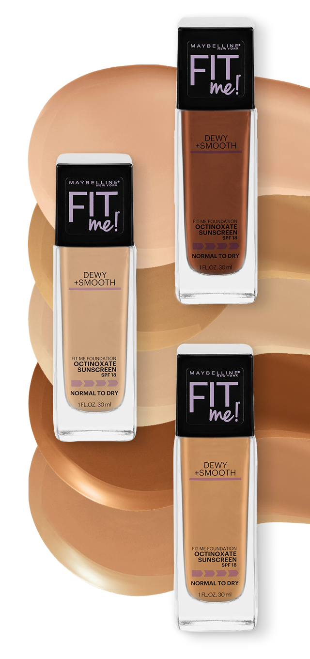 Shade Finder Maybelline Fit Me Dewy Smooth Foundation Ulta Beauty