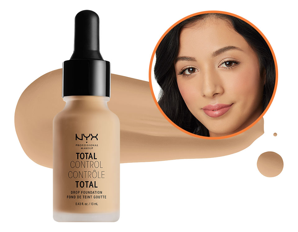 a5a7fd799dfc Shade Finder - NYX Professional Makeup Total Control Drop Foundation ...