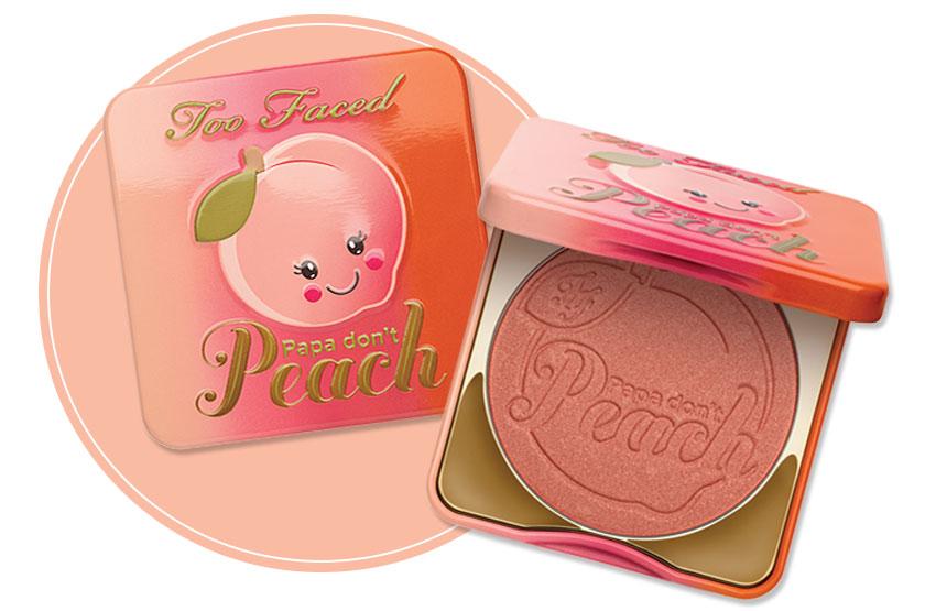 ผลการค้นหารูปภาพสำหรับ Too Faced Sweet Peach PAPA DON'T PEACH BLUSH